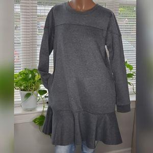 LAST ONE‼️Free Generation Mini Sweatshirt Dress
